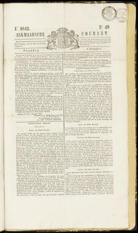 Alkmaarsche Courant 1842-12-05