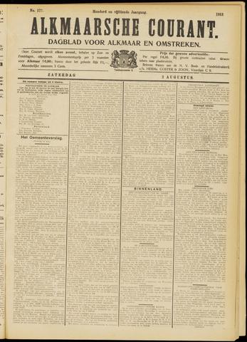 Alkmaarsche Courant 1913-08-02