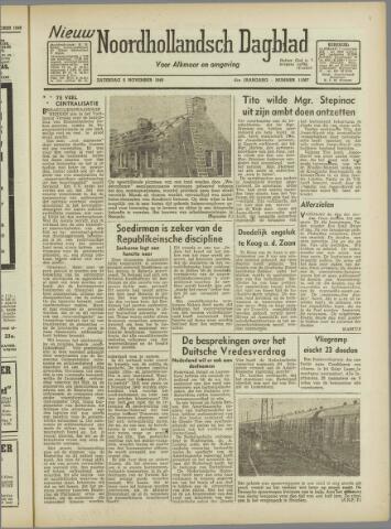 Nieuw Noordhollandsch Dagblad : voor Alkmaar en omgeving 1946-11-02