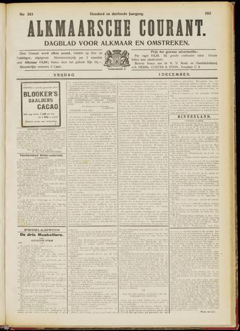Alkmaarsche Courant 1911-12-01
