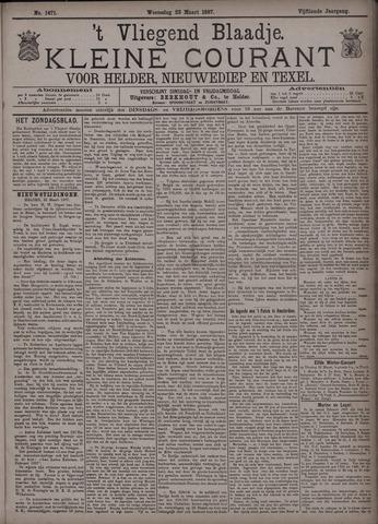 Vliegend blaadje : nieuws- en advertentiebode voor Den Helder 1887-03-23