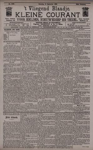Vliegend blaadje : nieuws- en advertentiebode voor Den Helder 1896-09-12
