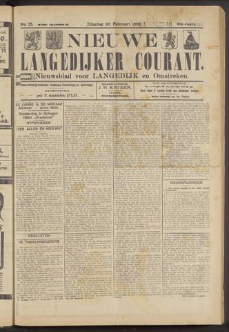 Nieuwe Langedijker Courant 1923-02-20