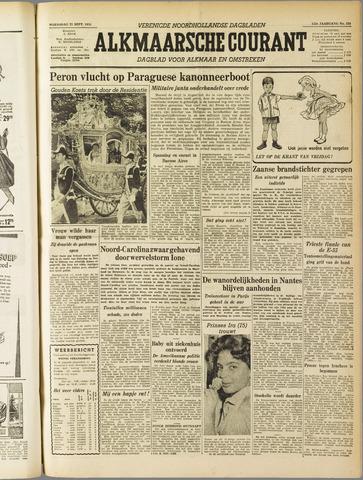 Alkmaarsche Courant 1955-09-21