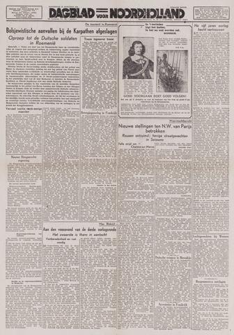 Dagblad Noord-Holland, Schager editie 1944-08-31