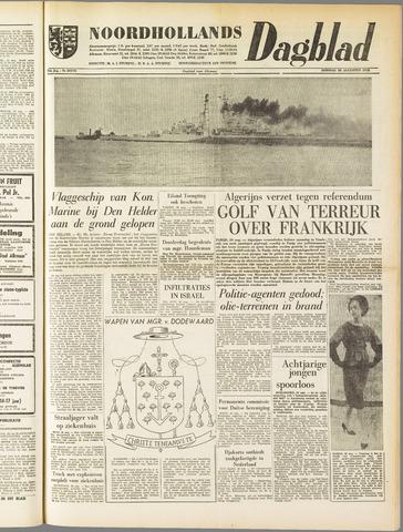 Noordhollands Dagblad : dagblad voor Alkmaar en omgeving 1958-08-26