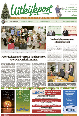 Uitkijkpost : nieuwsblad voor Heiloo e.o. 2012-12-23