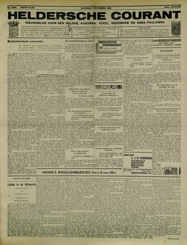 Heldersche Courant 1933-11-04