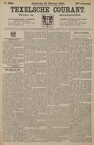 Texelsche Courant 1910-02-24