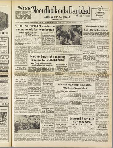 Nieuw Noordhollandsch Dagblad : voor Alkmaar en omgeving 1952-01-31