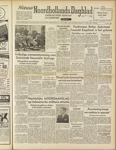 Nieuw Noordhollandsch Dagblad : voor Alkmaar en omgeving 1952-05-23