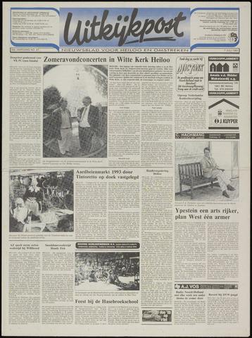 Uitkijkpost : nieuwsblad voor Heiloo e.o. 1993-07-07