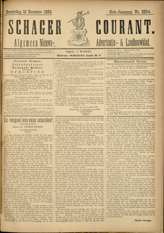Schager Courant 1888-12-13