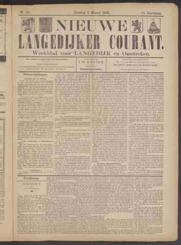 Nieuwe Langedijker Courant 1898-03-06