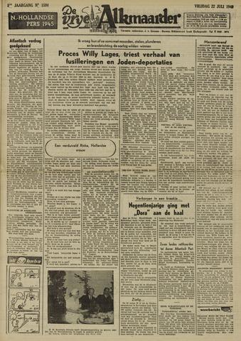 De Vrije Alkmaarder 1949-07-22