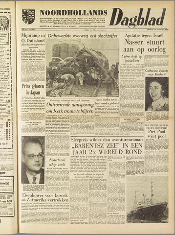 Noordhollands Dagblad : dagblad voor Alkmaar en omgeving 1960-02-23