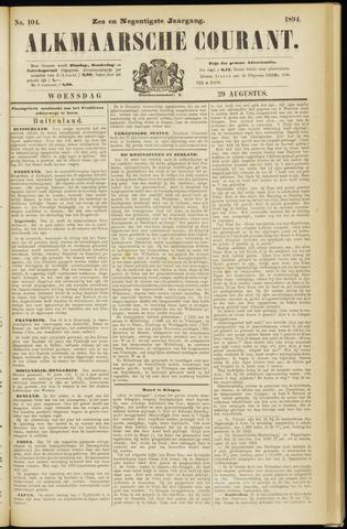 Alkmaarsche Courant 1894-08-29