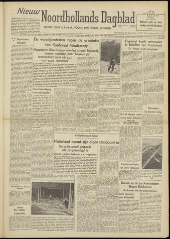 Nieuw Noordhollandsch Dagblad : voor Alkmaar en omgeving 1948-12-30