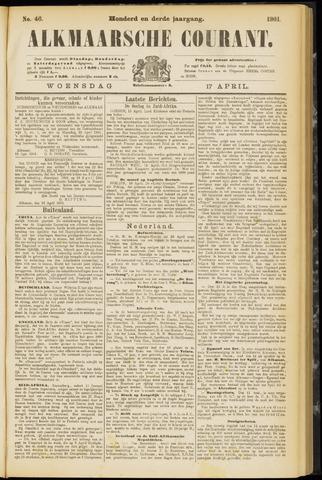 Alkmaarsche Courant 1901-04-17
