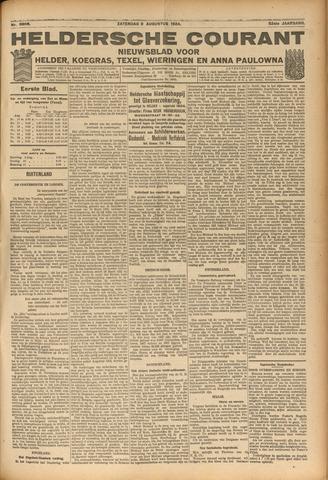 Heldersche Courant 1924-08-09