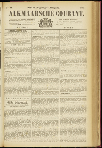 Alkmaarsche Courant 1896-07-17