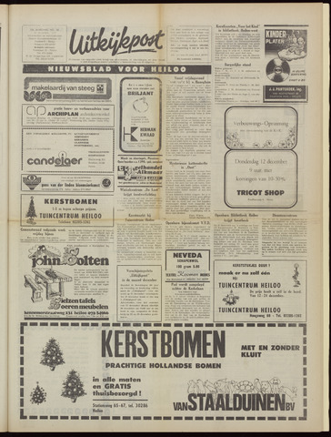 Uitkijkpost : nieuwsblad voor Heiloo e.o. 1974-12-11