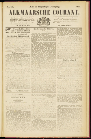 Alkmaarsche Courant 1896-12-23