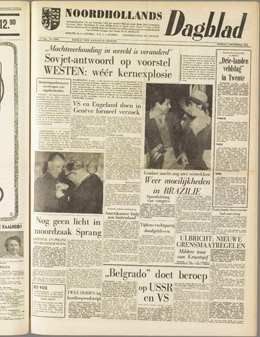 Noordhollands Dagblad : dagblad voor Alkmaar en omgeving 1961-09-05
