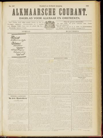 Alkmaarsche Courant 1911-10-20