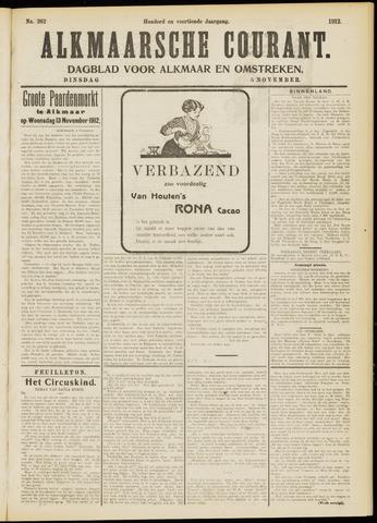 Alkmaarsche Courant 1912-11-05
