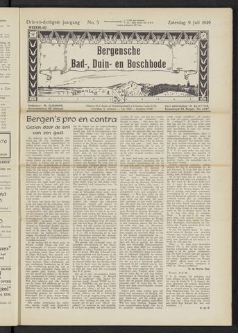 Bergensche bad-, duin- en boschbode 1949-07-09