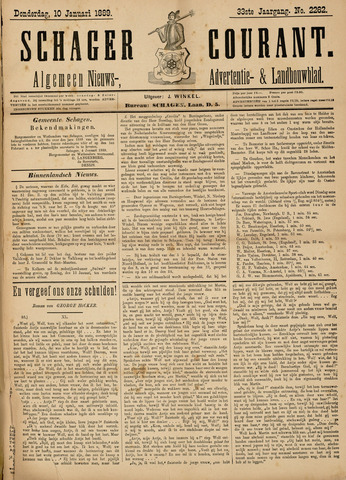 Schager Courant 1889-01-10