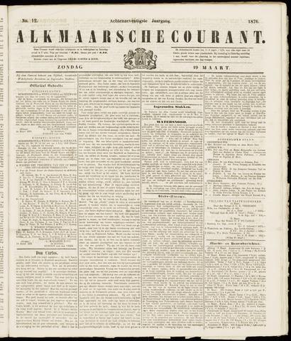 Alkmaarsche Courant 1876-03-19