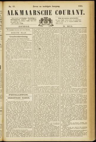 Alkmaarsche Courant 1885-05-24