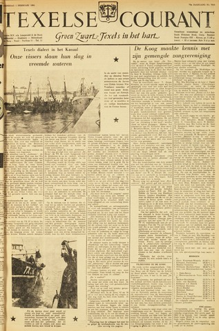 Texelsche Courant 1956-02-01