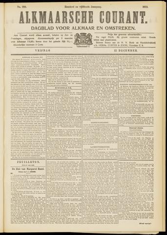 Alkmaarsche Courant 1913-12-12