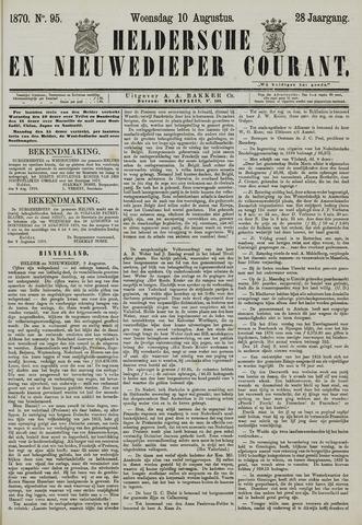 Heldersche en Nieuwedieper Courant 1870-08-10