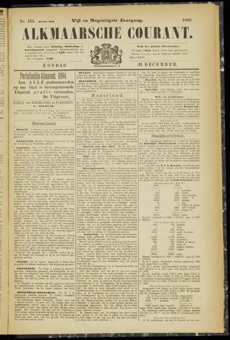 Alkmaarsche Courant 1893-12-31