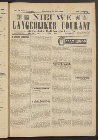 Nieuwe Langedijker Courant 1929-06-13