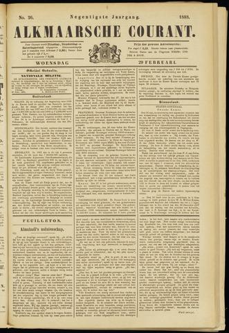 Alkmaarsche Courant 1888-02-29