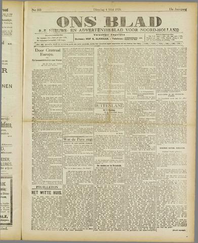 Ons Blad : katholiek nieuwsblad voor N-H 1920-05-04