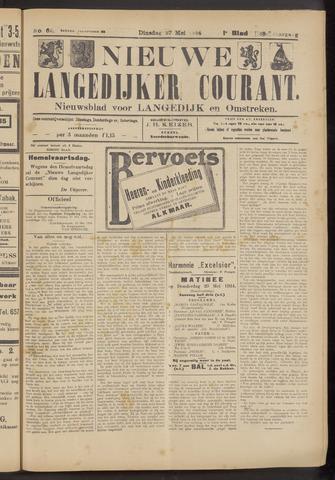 Nieuwe Langedijker Courant 1924-05-27