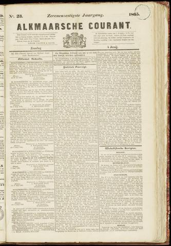 Alkmaarsche Courant 1865-06-04