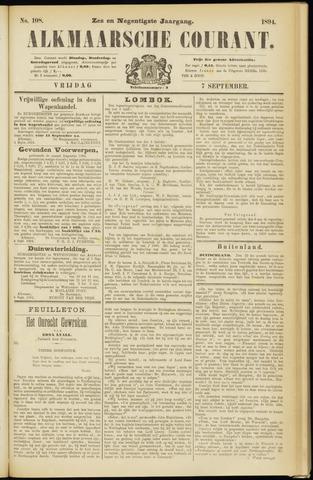 Alkmaarsche Courant 1894-09-07