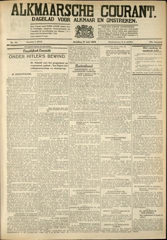 Alkmaarsche Courant 1933-07-14