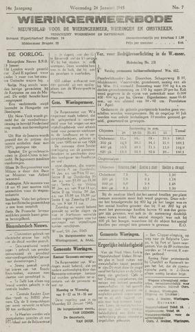Wieringermeerbode 1945-01-24