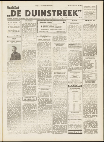 De Duinstreek 1953-12-11