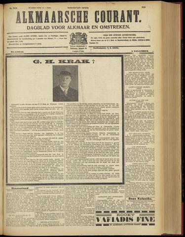Alkmaarsche Courant 1928-11-05