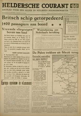 Heldersche Courant 1939-09-04