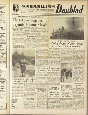 Noordhollands Dagblad : dagblad voor Alkmaar en omgeving 1960-08-13